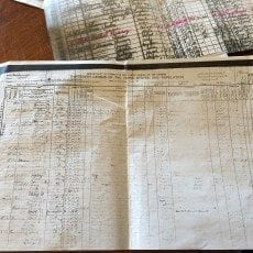 11x17 copies of Census records