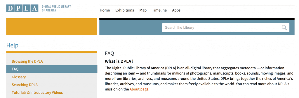 DPLA for free city directories