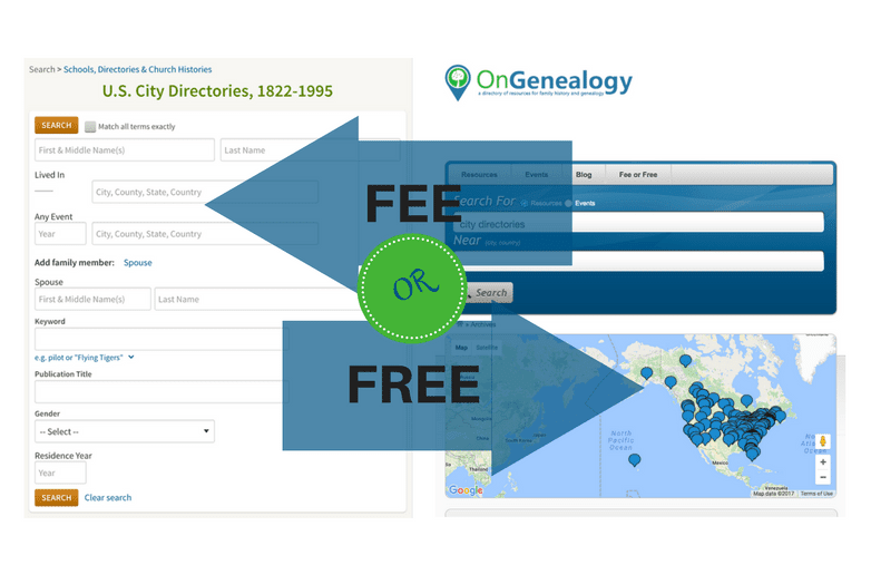 FeeOrFree City Directories