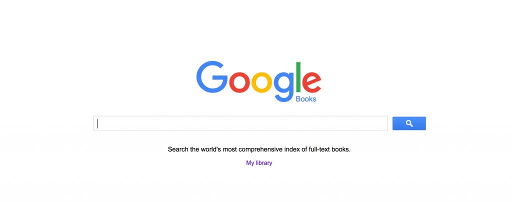 Google Books searches