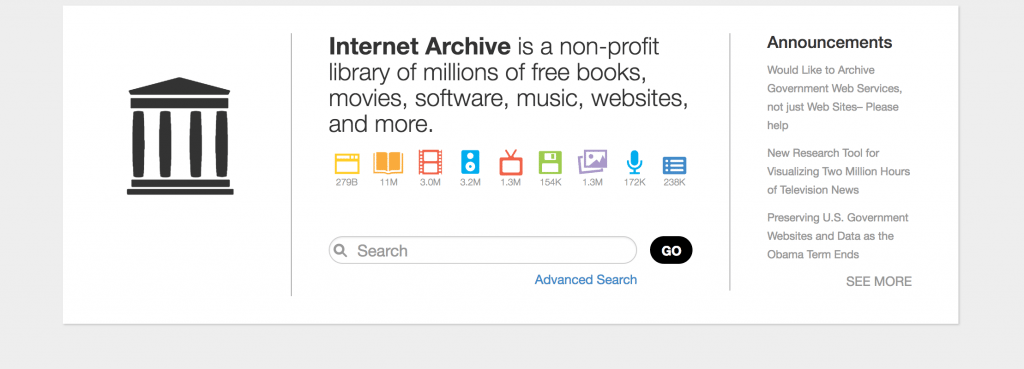 Internet Archive free books