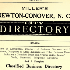 Maiden City Directories