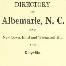 Wiscasset Hill City Directories