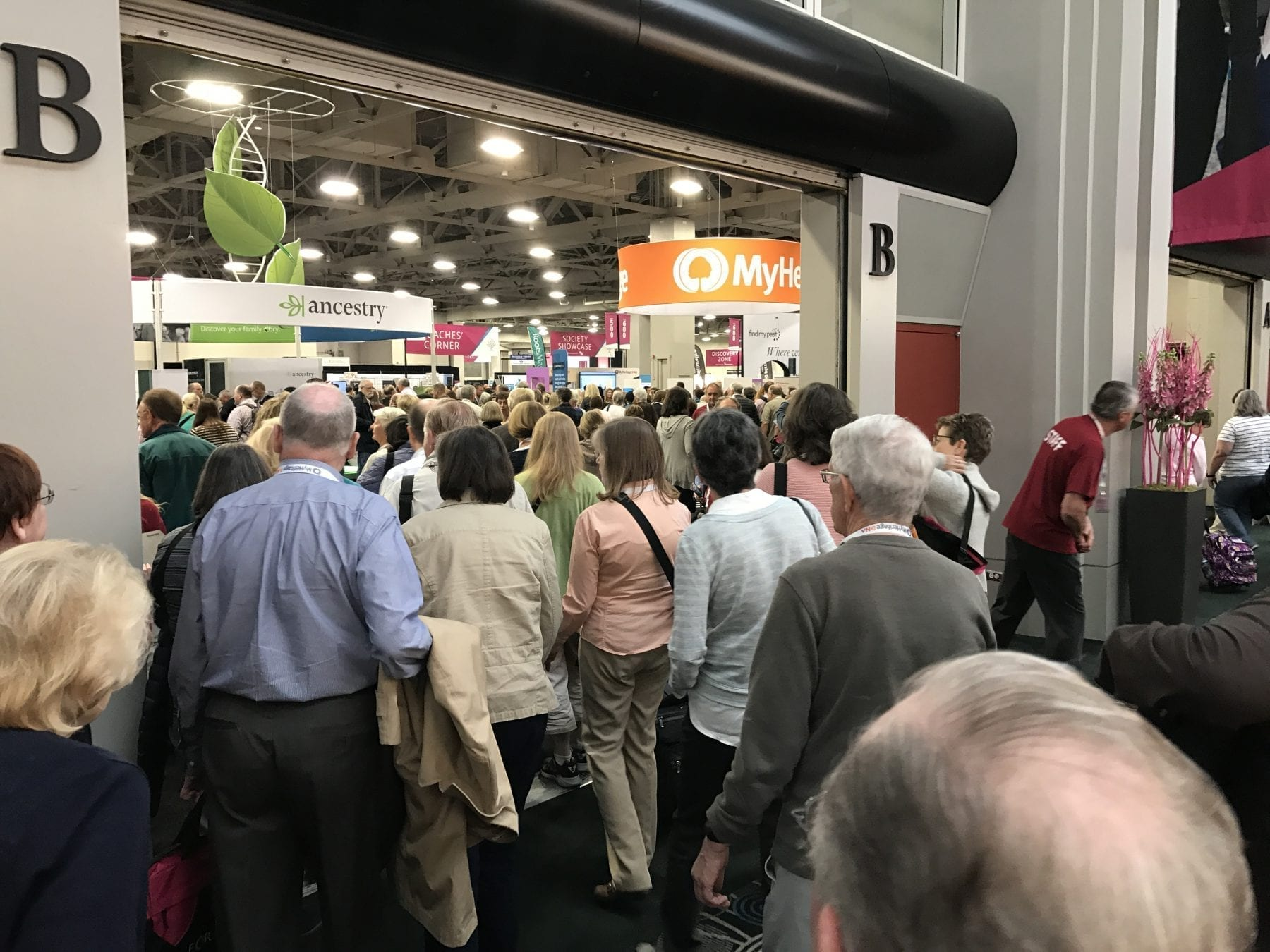 RootsTech 2017 Expo Hall