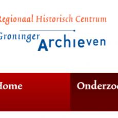 RHC Groninger Archieven free online Groninger Netherlands genealogy records