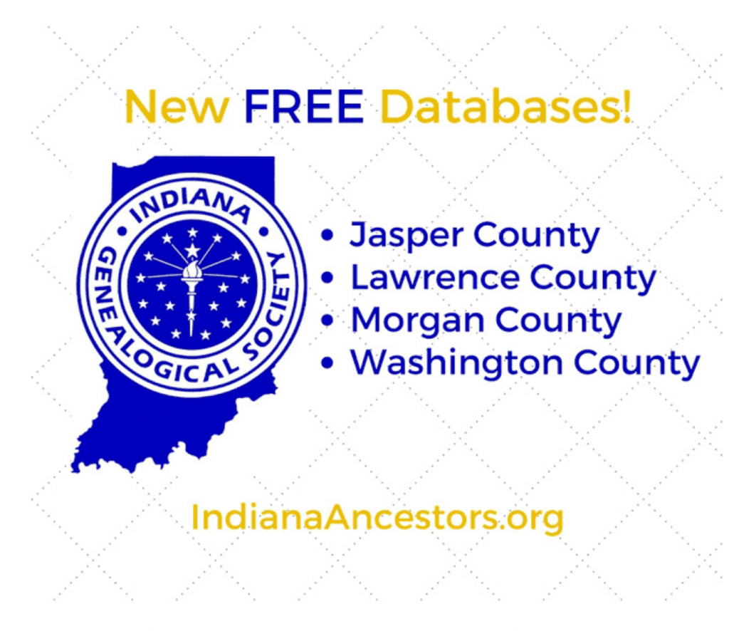 Indiana Genealogical Society IndianaAncestors free records online