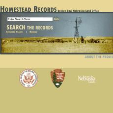 Nebraska Broken Bow Homestead Records UNL