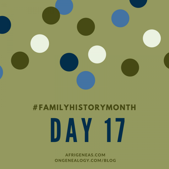 AfriGeneas OnGenealogy Family History Month