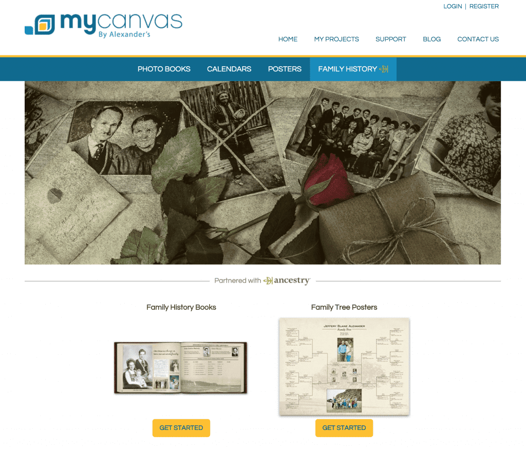 MyCanvas OnGenealogy Family History Month