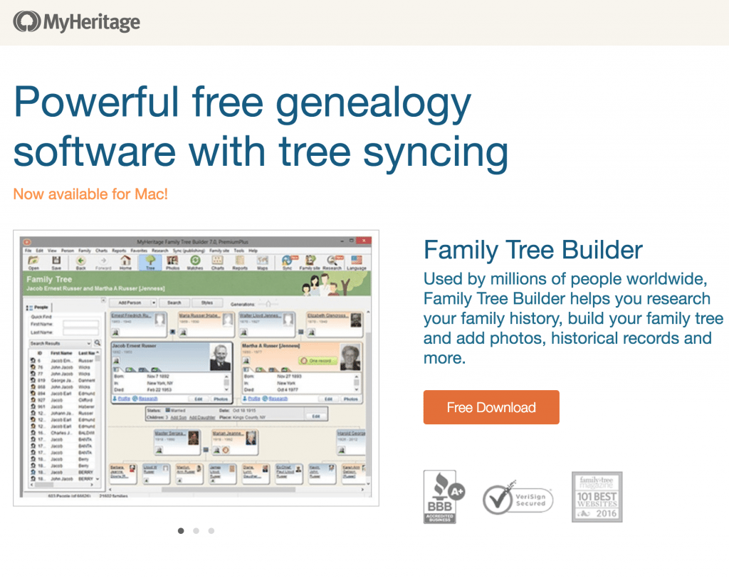 free Family Tree Builder software