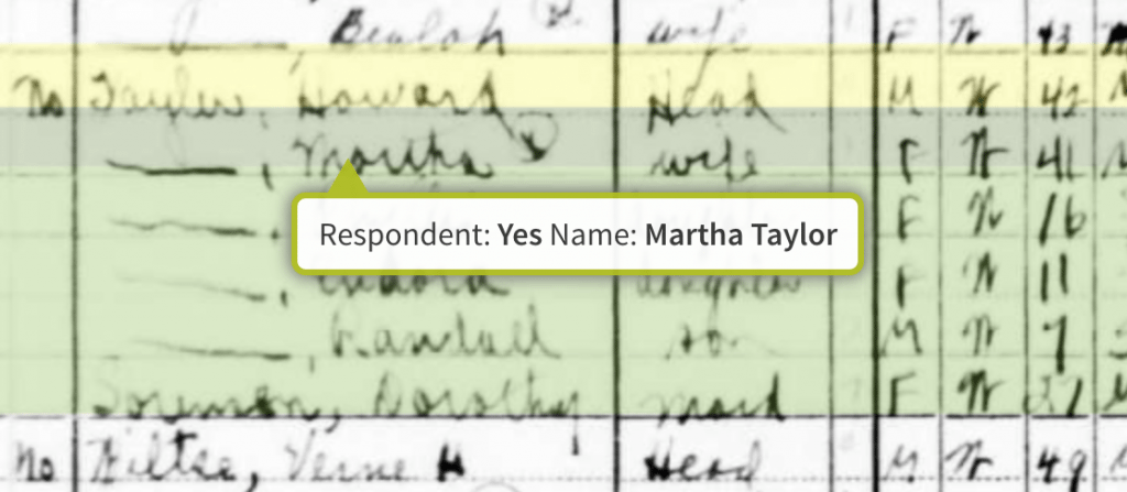 1940 Census with respondent info