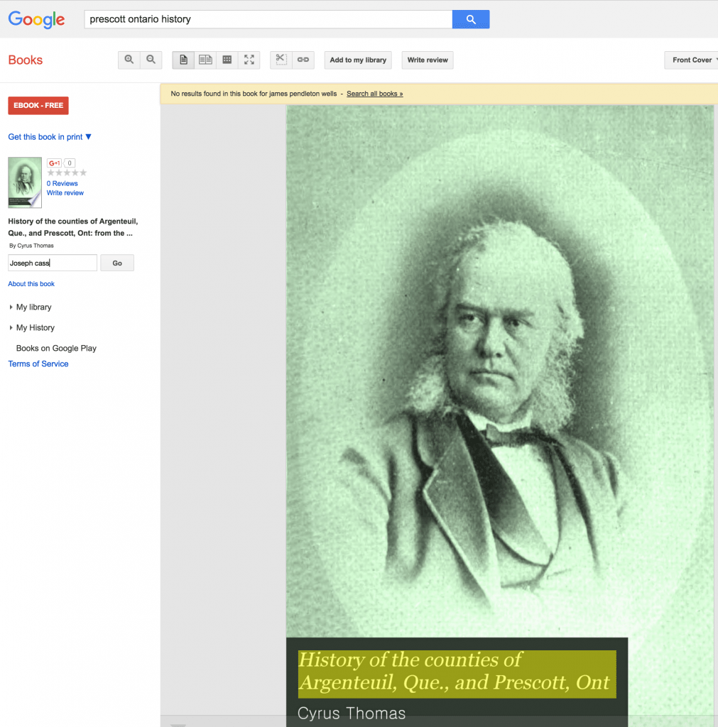 Searching within a specific book on Google Books