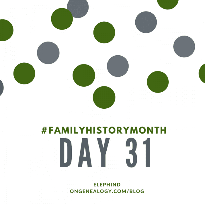 Elephind OnGenealogy Family History Month