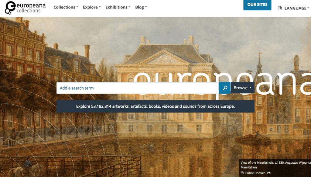 Europeana searches