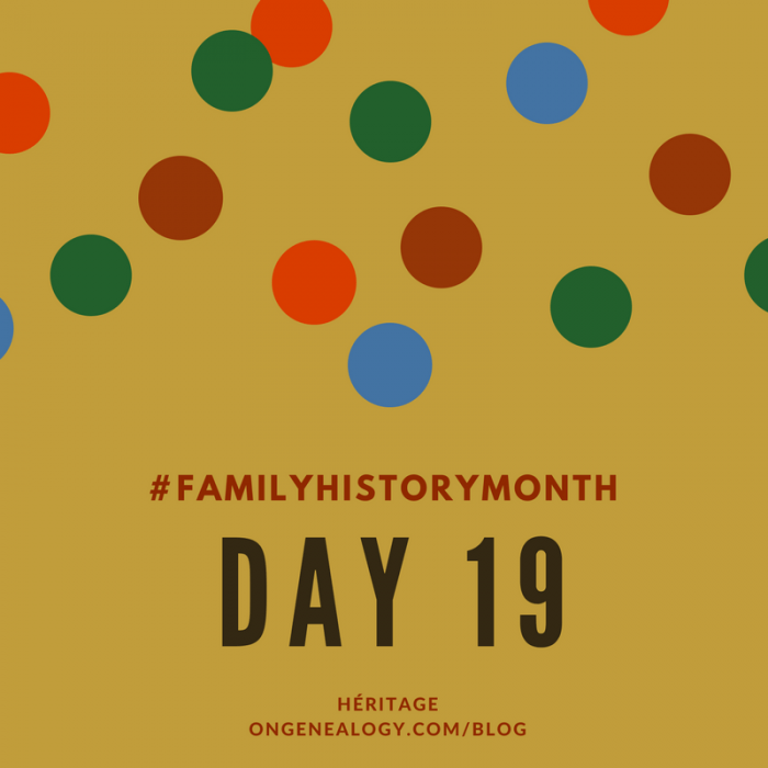 Family History Month Heritage OnGenealogy