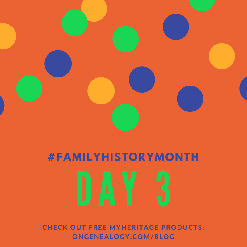 Family History Month free MyHeritage products