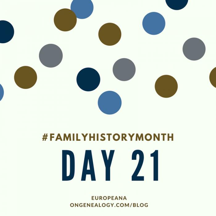 europeana for family history month OnGenealogy