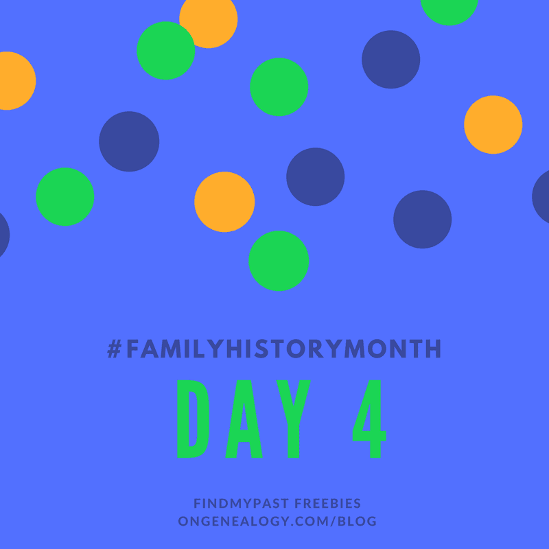 family history month findmypast freebies
