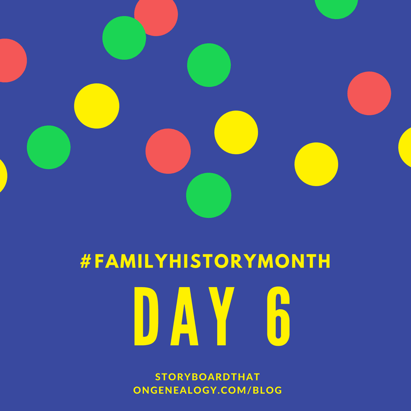 family history month storyboard that
