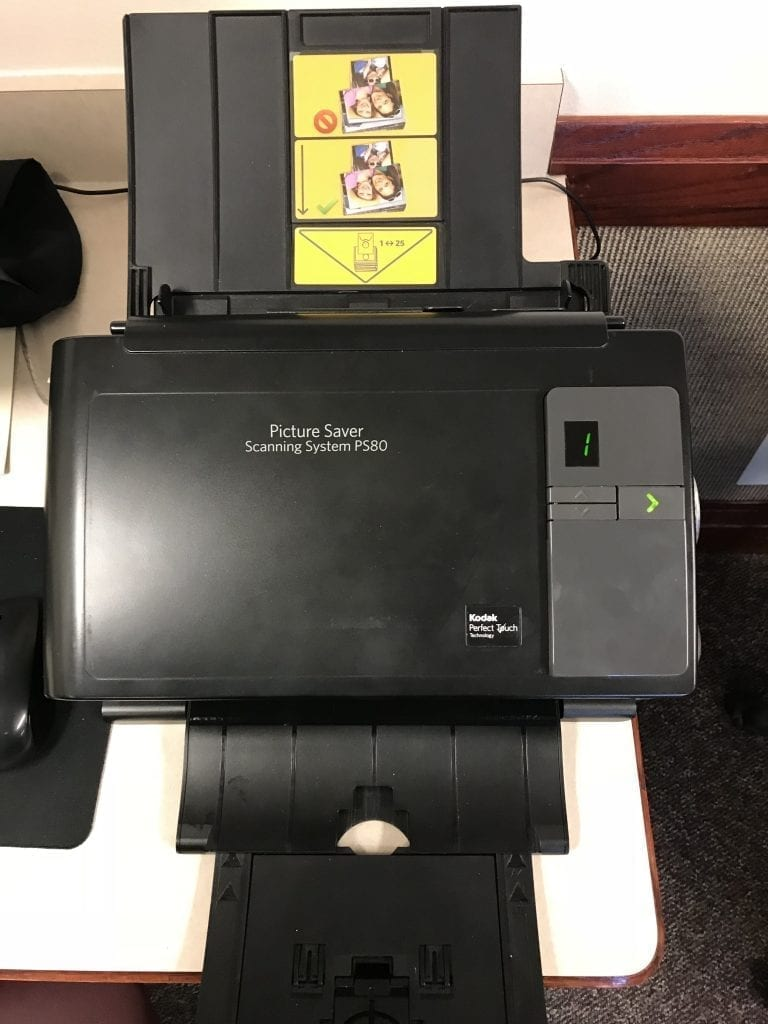 put photos in proper order for Autofeed Photo scanner